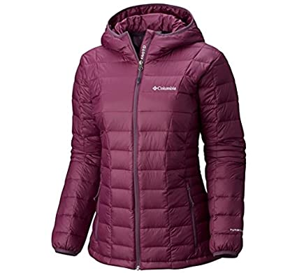 Columbia Womens Plus Size Voodoo Falls 590 TurboDown Hooded Jacket