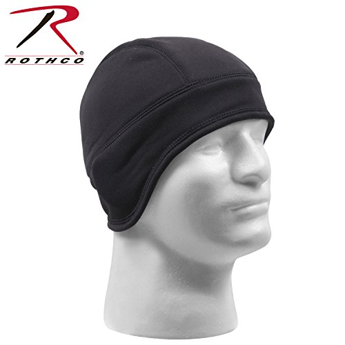 (Rothco Arctic Fleece Tactical Cap/Liner, Black )