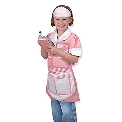 Melissa & Doug Waitress Role Play, 3-6 Years: Melissa & Doug: Toys & Games