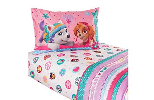 Nickelodeon Paw Patrol Skye Girls Twin Bedding sheet Set