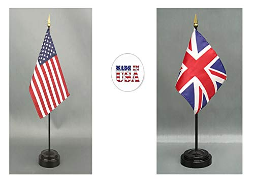 Made in The USA. 1 American and 1 British (Great Britain) Rayon 4