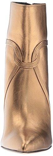 Fashion Women's Zoe Dark Gold Boot Bootie Rachel Liana vqPnwII5