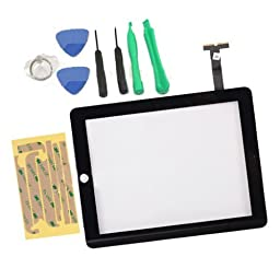 Touch Screen Glass Digitizer Replacement for Apple iPad 1 Wifi 3G + 7 Tools