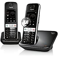 Gigaset GIGASET-S820A-DUO DECT 6.0 1-Handset Landline Telephone