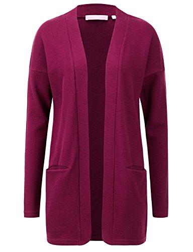 Regna X Women's Open - Front Long Sleeve Knit Cardigan