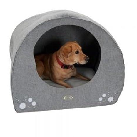 Zooplus Lavable Perro Cama Igloo - cómodo tamaño Mediano Interiores den: Amazon.es: Productos para mascotas