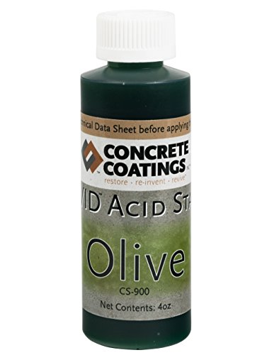 VIVID Acid Stain - 4oz - Olive (Mossy Green)