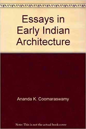 Book Essays in Early Indian Architecture