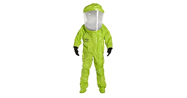 Amazon.com: DWOS tychem TK Nivel de Comandante un traje ...