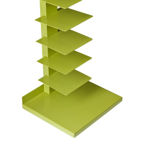 Southern Enterprises Daisy Spine Book/Media Tower, Lime Green
