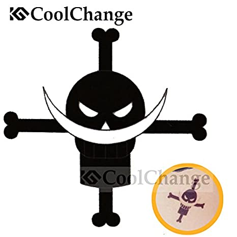 Cool Change One Piece tatuaje temporal adhesivo, diseño: Jolly ...