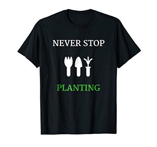 Passion Gardening T-Shirt Men Women Planting Turf Seed