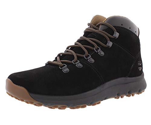 - Timberland Mens World Hiker Mid Black Suede Boot - 9.5