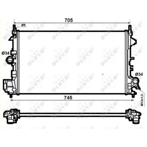 vauxhall engine cooling diagram index listing of wiring diagramsnrf 53074 radiator, engine cooling amazon co uk car \\u0026 motorbikevauxhall engine cooling diagram