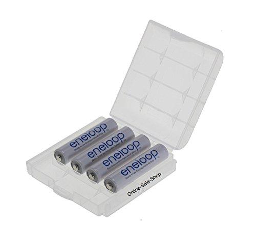 4x Panasonic eneloop AAA batería 800mAh Batería recargable para teléfono Siemens Gigaset SX550I, S67H, SX810ISDN, A220, AS285, A510Duo, S810, 455x, CX610ISDN, S79H C300, A285, S810H, A420, C100,