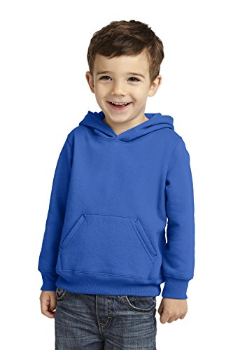 Precious Cargo unisex-baby Pullover Hooded Sweatshirt 4T Royal