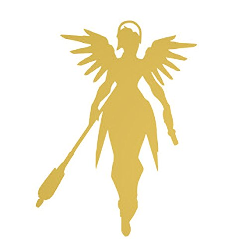 ANGDEST Overwatch - Mercy  Waterproof Vinyl Decal Stickers f