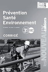 Prévention santé environnement 1re Tle Bac Pro Corrigé