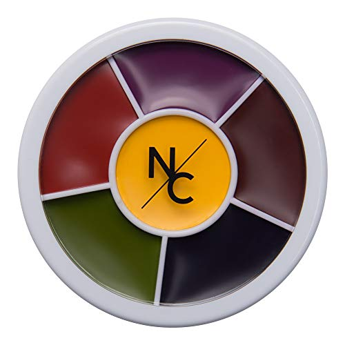 Narrative Cosmetics Bruise Wheel for Special Effects, Theatrical Makeup and Halloween - 6 Color -