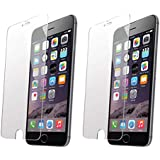 2-Pack RocketBus Tempered Glass Screen Protector for Apple iPhone 8 Plus 7 Plus 6 Plus Eight + Cellphones