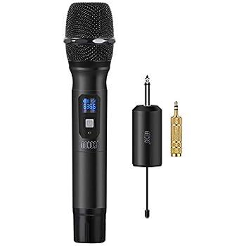 Amazon com: TONOR UHF Wireless Microphone Handheld Mic with