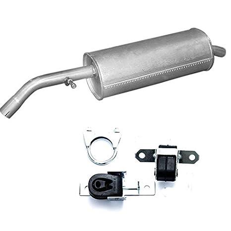 - Silenciador trasero CITROEN C2, C3 de escape/Pluriel 1.4 Hdi Turbo Diesel + Montaje Ware: Amazon.es: Coche y moto