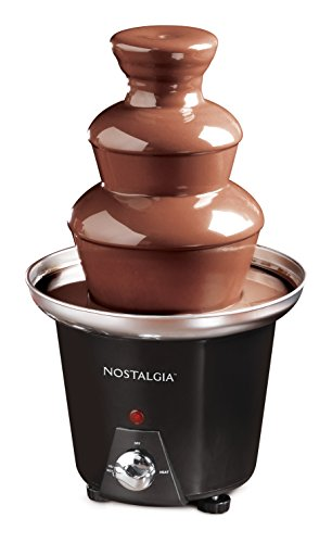 Nostalgia CFF965 3-Tier 1.5-Pound Chocolate Fondue (Best Chocolate Fountains)