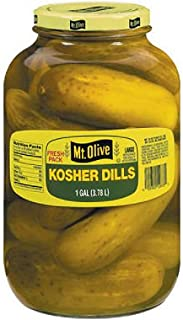 product image for Mt. Olive Kosher Dills - 1 gal. jar (pack of 6)