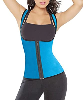 Mansy Women's Slimming Neoprene Vest Hot Sweat Shirt Body Shapers for Weight Loss from Mansy