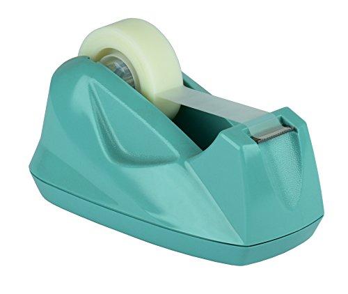 (Acrimet Premium Tape Dispenser (Solid Green Color))