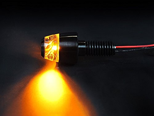 Motogadget MG6004010 - m-Blaze Pin LED Turn Signals - Black - Pair
