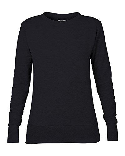 Anvil Féminin d'enclume mid-scoop Molleton sweatshirt - Noir, Large