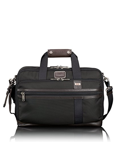 Tumi Alpha Bravo Mayport Three Way Brief Briefcase, Hickory, One Size by Tumi