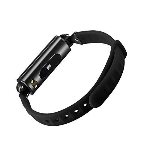 Longess Fitness Tracker 1.3 Color Screen Fitness Watch,Sport Tracker IP68 Waterproof for Swimming Heart Rate with Blood Pressure and Activity Tracking Monitor Monitor Calorie Counter Black