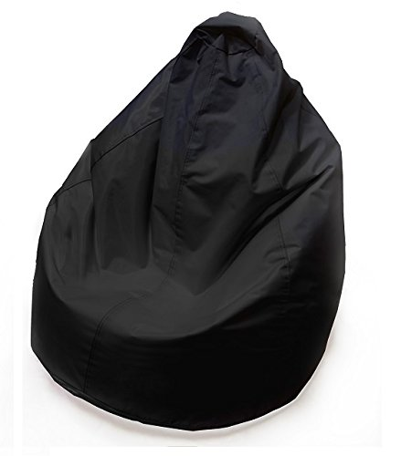 KAWIN Shopping on line Pouf Poltrona pera puff SACCO puf - NERO