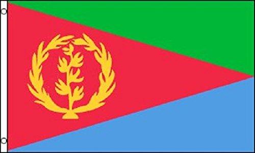3x5 Eritrea Flag State Banner Horn of Africa Country Pennant (Eritrea Flag)