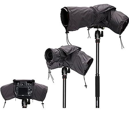 Safrotto Camera Rain Cover for DSLR/SLR Cameras Protector Canon Nikon Olympus,Pentax,Fuji.Sony,Tamrox,Sigma