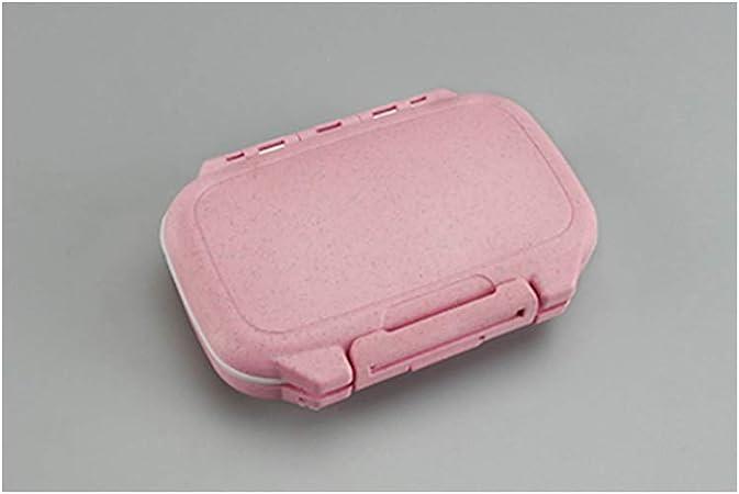 FRYH Suplementos De Vitaminas Caja De Medicina 4 Compartimentos Extraíbles,Beige: Amazon.es: Hogar