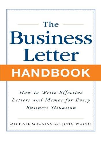 Business Letter Handbook ()