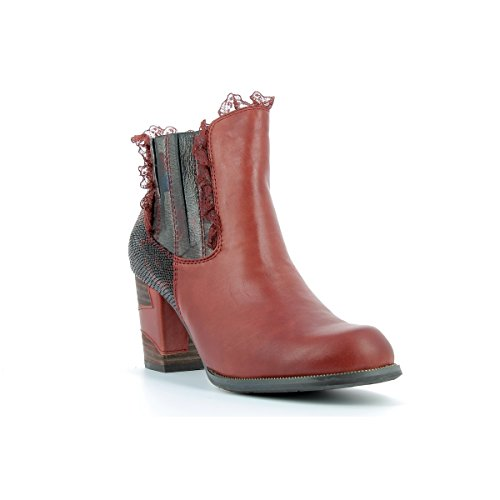 01 Stivali donna Vita rossi Laura da Anna TqR8wE