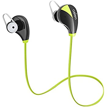 AELEC S350 Wireless Bluetooth Headphones In-Ear Sports Earbuds Sweatproof Earphones Noise Cancelling Headsets with Mic for Running Jogging