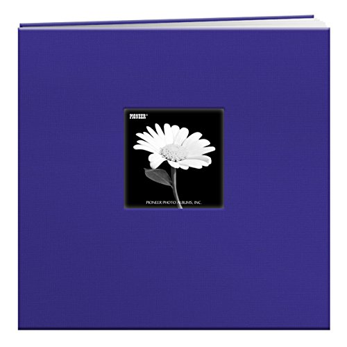 Postbound Top (Pioneer 12-Inch by 12-Inch Book Cloth Cover Postbound Album with Window, Cobalt Blue)