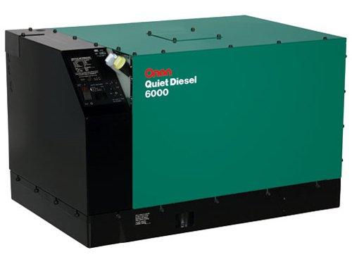 (Cummins Onan QD 6.0 Diesel RV Generator | 6.0HDKAH-1044)