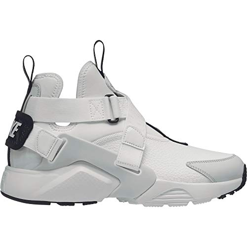 Nike Mens Air Huarache City Utility Shoes (10 M US, Summit White/Summit White/Light Silver)