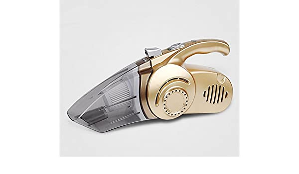 Lin&Chao Automoción aspirador , Alquiler de vehículos , Aspiradora Aspirador húmedo y seco automóvil , V, 120W, oro: Amazon.es: Coche y moto