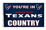 NFL Houston Texans Country 3-by-5 Feet Flag with Grommets