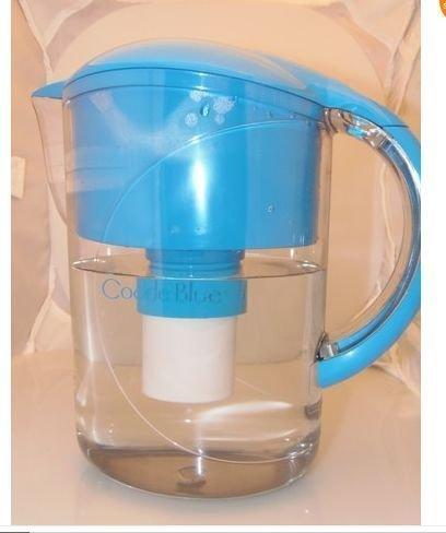 Code Blue Water Filtration System Pitcher Digital