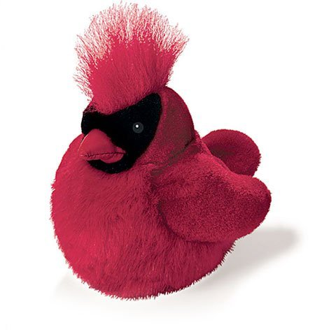 (Northern Cardinal - Audubon Plush Bird (Authentic Bird Sound))
