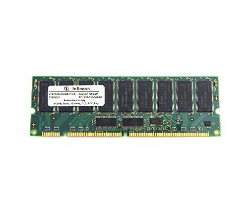 (Infineon - Infineon 512MB PC133R-333 Memory HYS72V64300GR-75D ECC Sync SDRAM )