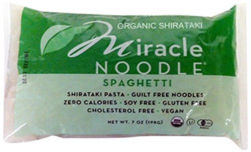 Miracle Noodle Shirataki Pasta, Organic Spaghetti, 7 Ounce (Pack of 6) by Miracle Noodle